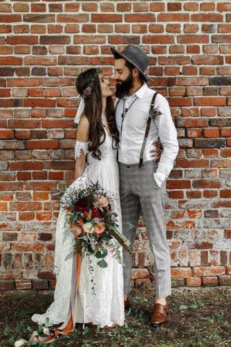 groom attire boho with suspenders zatrzymaj czas