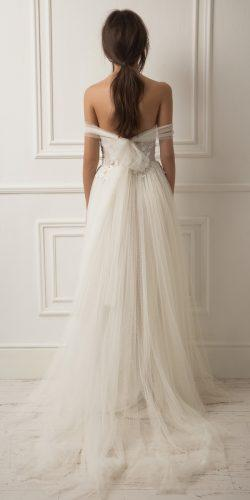 lihi hod wedding dresses flowy a line off the shoulder open back