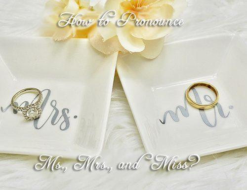 mrs vs ms rings wedding flower