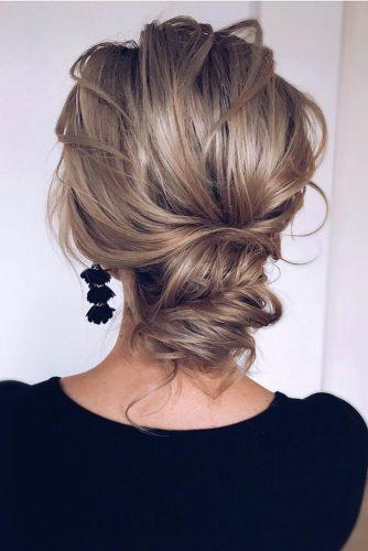 pinterest wedding hairstyles elegant textured low bun curly blonde hair_vera