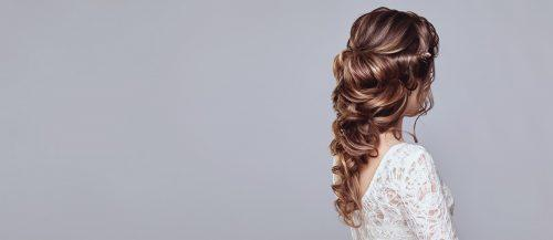 wedding hair half up featured