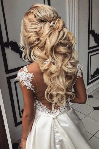 wedding hair half up ideas page of wedding