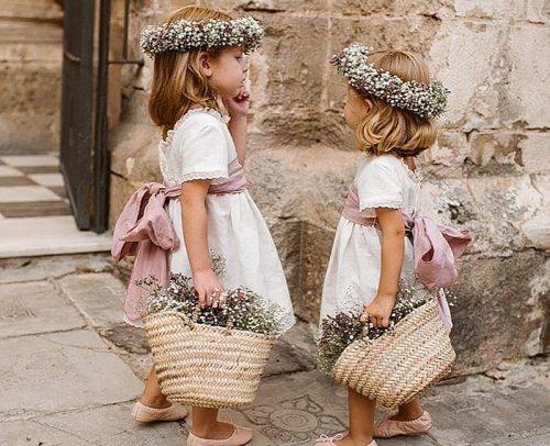 wedding roles flower girls