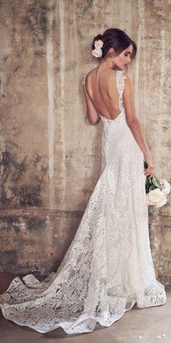 anna campbell wedding dresses empress lace skirt low back with straps jamie