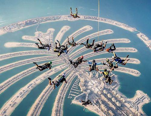 bachelor party ideas skydiving dubai friends