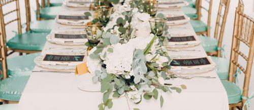 bohemian table runner featured