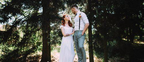 elope wedding dresses bride and groom eloping ceremony featured