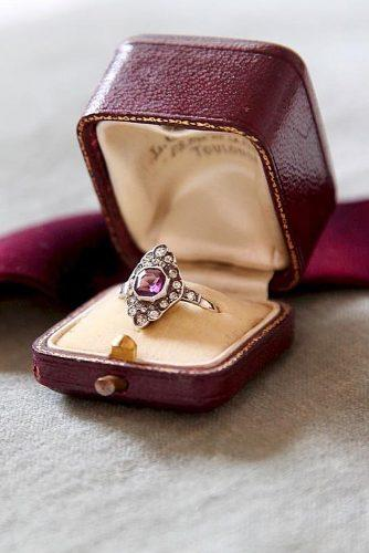 engagement ring boxes vintage style box