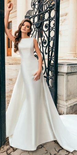 meghan markle wedding dresses mermaid with overskirt sleeveless bateau neck simple amandadivelli