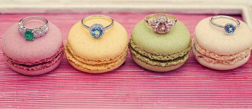 unique engagement rings macaroons rings gemstones featured
