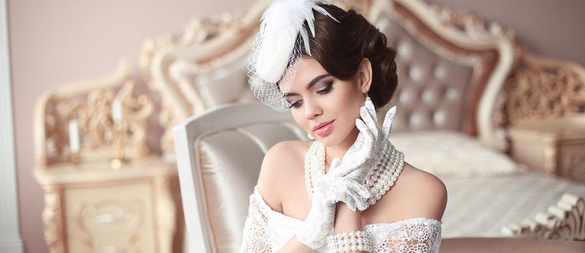 30 Retro And Vintage Wedding Makeup Ideas