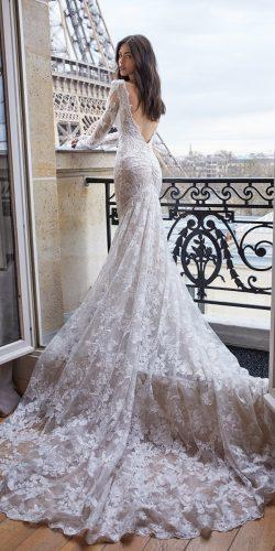 wedding dresses 2019 trumpet lace low back long sleeve julievino
