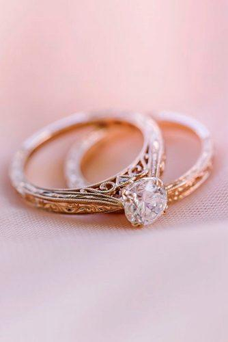 kirk kara engagement rings wedding ring sets bridal sets rose gold wedding rings diamond engagement rings kirkkara
