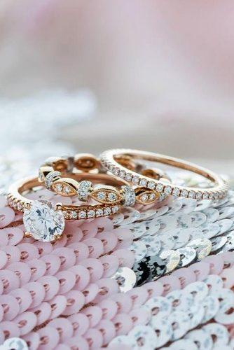 kirk kara engagement rings rose gold engagement rings round diamond engagement rings classic wedding ring sets kirkkara