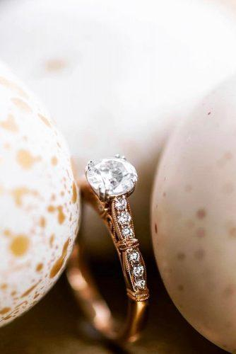 kirk kara engagement rings rose gold engagement rings round diamond engagement rings classic engagement rings kirkkara