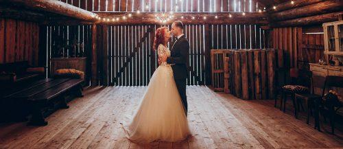 barn wedding featured