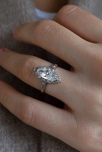 engagement ring inspiration marquise cut diamond halo white gold engagement rings