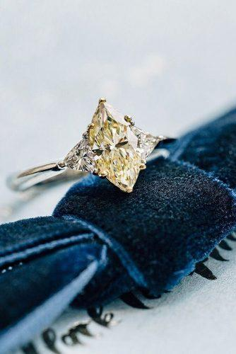 engagement ring shapes marquise cut yellow diamond