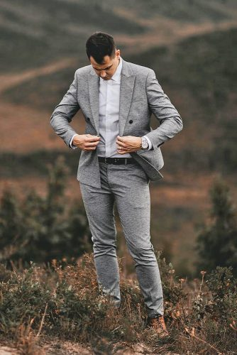 groom suits charcoal jacket for country elka musaev