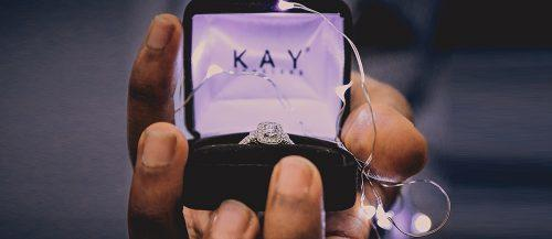 kay jewelers engagement rings gift with gold diamond engagement ring