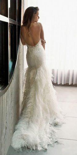 riki dalal wedding dresses 2019 trumpet low back spaghetti straps sleeveless