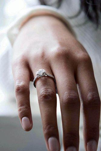 todays top engagement trends simple solitaire diamond gold