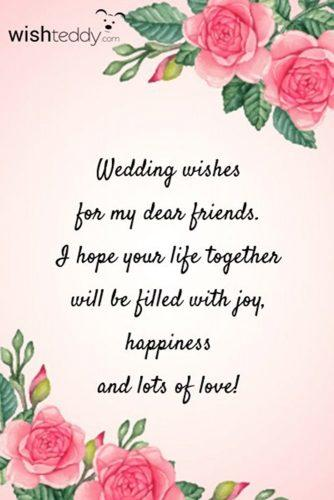 Wedding wishes 88 examples of what to write in a wedding card in 2018 religious wedding wishes m4hsunfo