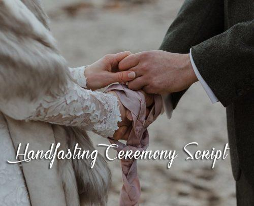 handfasting ceremony wedding handfasting ceremony