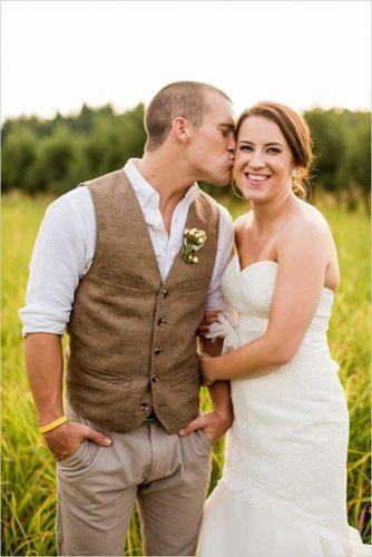 rustic groom attire khakis country the burks chelsey boatwright photography