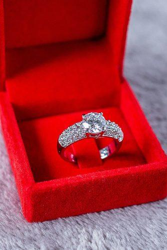 top engagement ring ideas solitaire diamond white gold round cut beautiful engagement rings