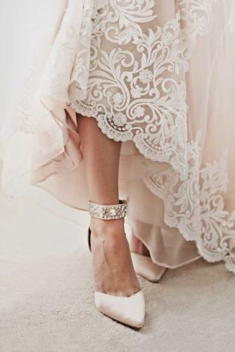 white wedding shoes with heels stones uplift photography