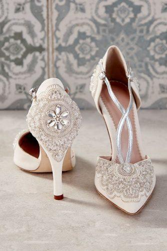 white wedding shoes with heels vintage emmylondonofficial