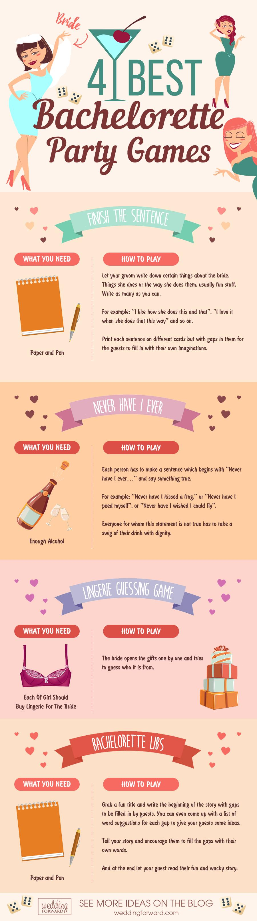 20 Fun Hilarious Bachelorette Party Games In 2019 That