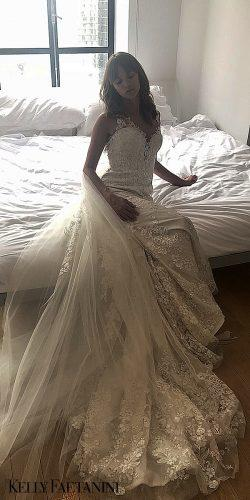 kelly faetanini 2019 wedding dresses with a removable skirt taylor lace bridal gown