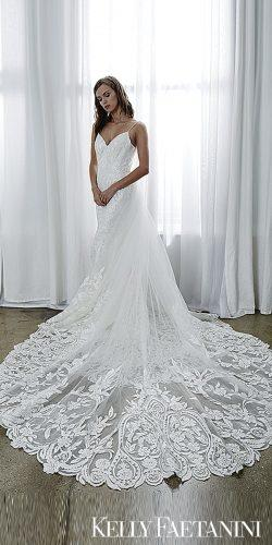 kelly faetanini 2019 wedding lace wedding dresses a line bridal gowns Kelly Faetanini gisell