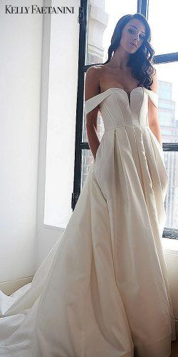 kelly faetanini simple wedding dresses a line strapless ivory empire 0593 nova