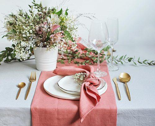 Wedding Table Settings Casual Table Setting