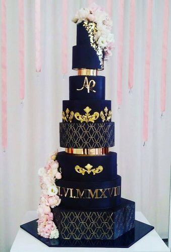 black wedding cake wonderful blac wedding cake olyalyacakes