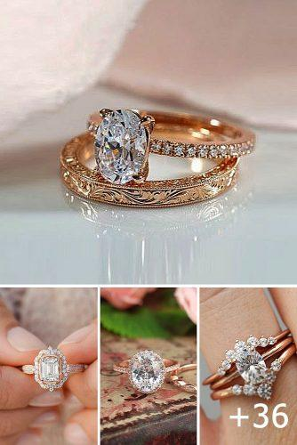 collage rose gold engagement rings wedding ring top engagement rings