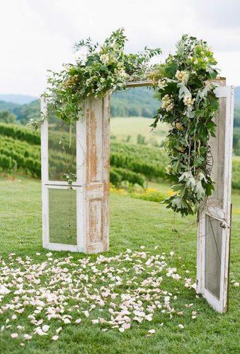 destination weddings decorations door archJosh Gruetzmacher Photography