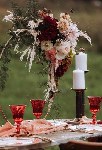 destination weddings decorations rustic centerpiece kaffka Events