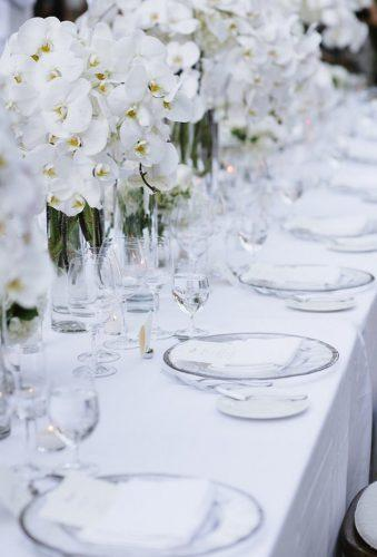 destination weddings decorations white table decor Caitlin O'Reilly Photography