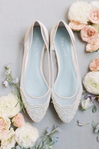 flat wedding shoes beaded pears and lace bella belle shoes