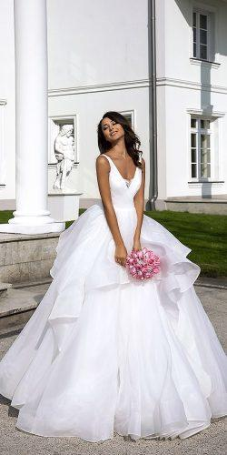 collection love in the palace tina valerdi wedding dresses cup sleeves v shape ballgown natural waist 9F8A1288