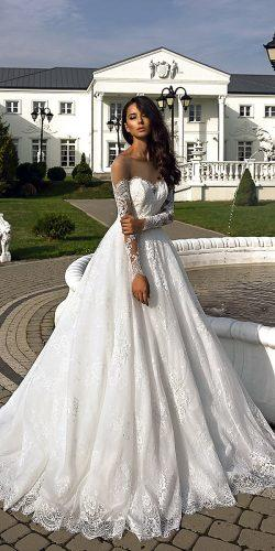 collection love in the palace tina valerdi wedding dresses long sleeves heart shape ballgown 9F8A1588