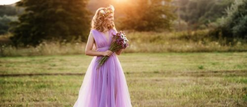 colourful wedding dresses featured
