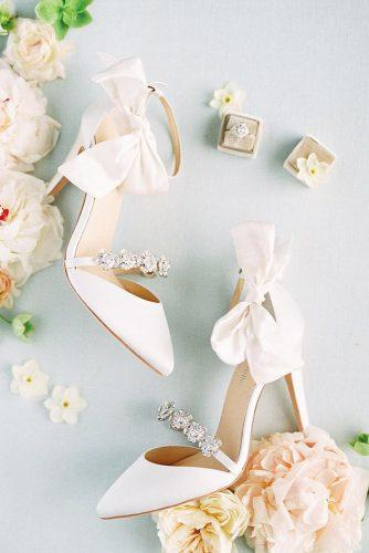 comfortable wedding shoes with heels stones with bow bellabelleshoes