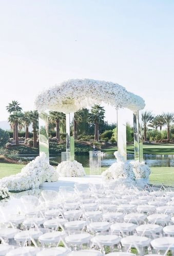 destination weddings decorations chic white aisle elizabethmessina