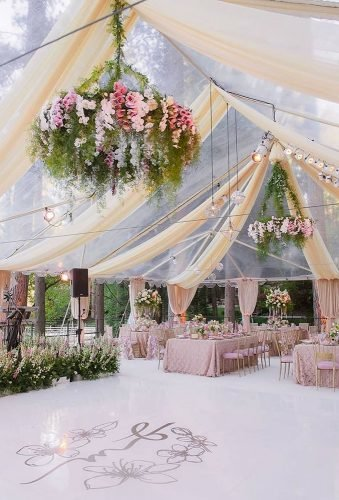 destination weddings decorations reception under transpend tent cloveandkin