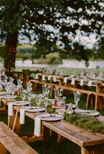 destination weddings decorations wood table decor tupouphotography
